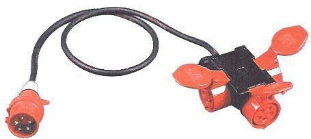 CEE-Verteiler-Würfel 32A mit Kabel