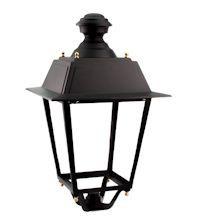 LED Mastleuchte Parklaterne Old Style 40W