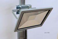 Reitplatzbeleuchtung-Set mit 4 LED Flutern