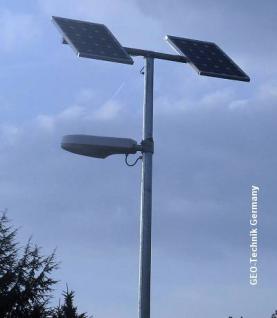 Solar Straßenbeleuchtung LED Frankfurt 60W / 300W
