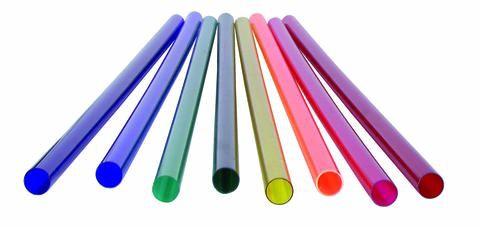 Farbfilter Rohr für Leuchtstoffröhren 120 /150cm
