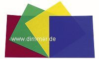 Farbfolien-Set für Scheinwerfer 20x 20cm PAR56