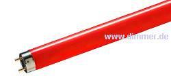 Leuchtstoffröhre rot, gelb, grün, blau T8 150cm 58W