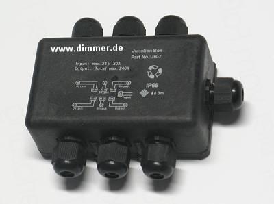 NV Klemmdose für 6 Leuchten IP68