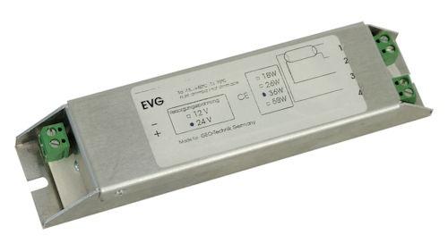 EVG Vorschaltgerät 24V DC, T8, 58W