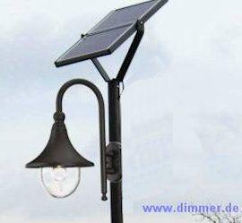 Solar LED Straßenlaterne 4m Moritz
