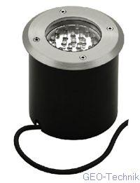 Bodeneinbauleuchte LED-20 Edelstahl für Aussen