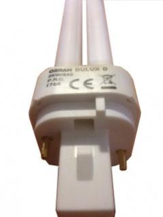 Lampe Dulux D 18W PL-C G24d-2 840