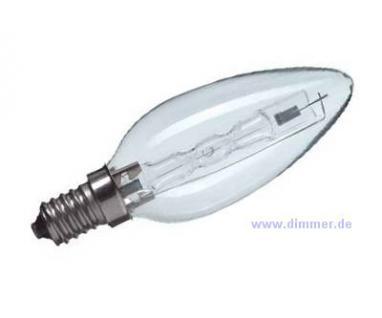 Halogen-Kerzenlampe 42W (60W) E14