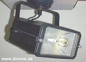 Halogen-Metalldampf Fluter Lival Power für HQI 70W schwarz