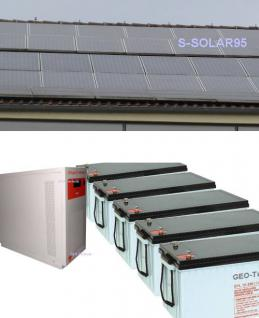 Solarstrom Inselanlage Stromversorgung 12kW
