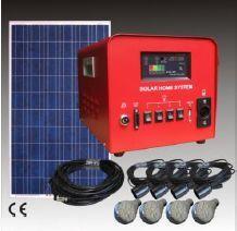 Solarbeleuchtung 6 Lampen für kleines Haus