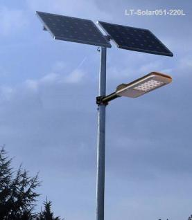 Solar Straßenleuchte LED Solar 051 / 235 Watt - Vorschau 1