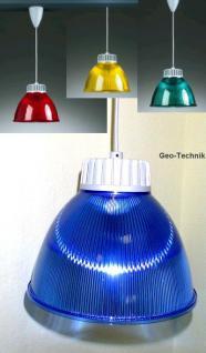 Acryl Hängeleuchte Bistro-Trendy 30cm E27 Farbig
