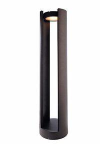 Außen Standleuchte LED Zylinder