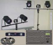 Mobile Bühnenbeleuchtung Paket Set 2