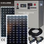 Solare Schulbeleuchtung 8x100W