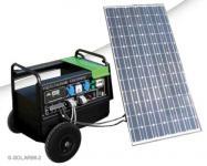 Mobiler Solarstromerzeuger 230V Generator 1KW