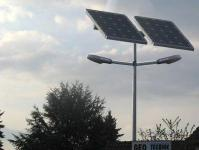 Solar Doppel Straßenleuchte 051 2x 100 Watt SOX