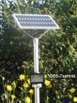 Solar Mastleuchte LED Strahler