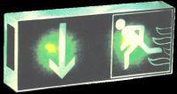 Notausgangsleuchte LED Fluchtwegleuchte mit Akku