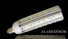LED Lampe 12V 15W E27 Alu-Profil