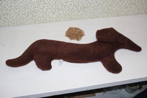 Dackel Wärmekissen Körnerkissen Weizen Kissen Hund handgefertigt