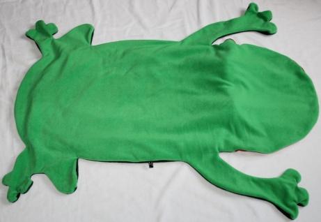 Frosch Kinder Schlafsack Laubfrosch Strampelsack - Vorschau 4