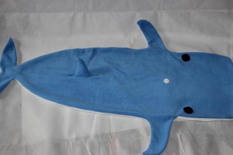 Kinder Schlafsack Wal Strampelsack Blauwal - Vorschau 3