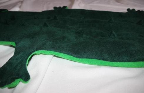 Krokodil Kinder Schlafsack Alligator Strampelsack - Vorschau 5
