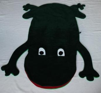 Frosch Kinder Schlafsack Laubfrosch Strampelsack - Vorschau 2
