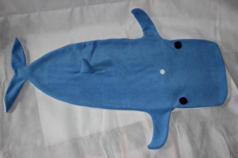 Kinder Schlafsack Wal Strampelsack Blauwal - Vorschau 4