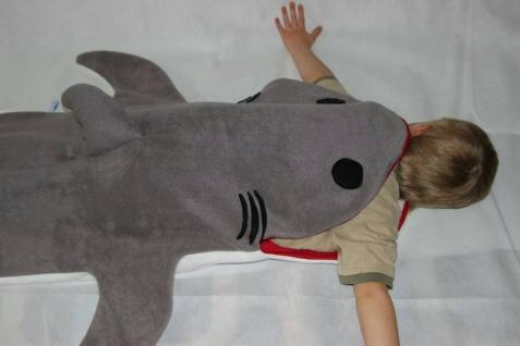 Kinder Schlafsack Hai Strampelsack - Vorschau 2