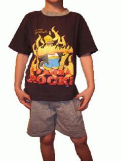 Simpsons Kinder Shorty Pyjama Homer - Vorschau 1