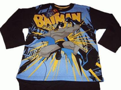 Batman Kinder Pyjama Schlafanzug - Vorschau 2