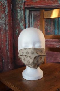 Mundbedeckung Maske Mundmaske Mund- und Nasenbedeckung handgefertigt