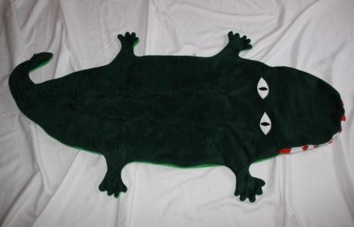 Krokodil Kinder Schlafsack Alligator Strampelsack - Vorschau 4