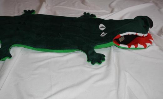 Krokodil Kinder Schlafsack Alligator Strampelsack - Vorschau 2