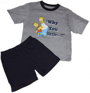 Simpsons Kinder Shorty Pyjama Homer - Vorschau 2