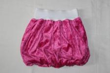 Mädchen Ballonrock pink weiß Gr. 98/110