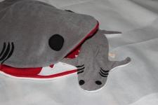 Hai Wärmekissen Körnerkissen Hai Weizen Kissen