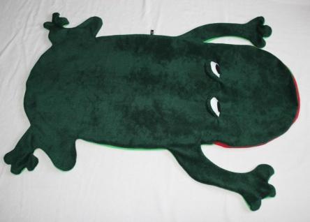 Frosch Kinder Schlafsack Laubfrosch Strampelsack handgefertigt