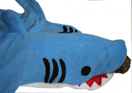 großer Hai Schlafsack grau oder blau Hai für Erwachsene