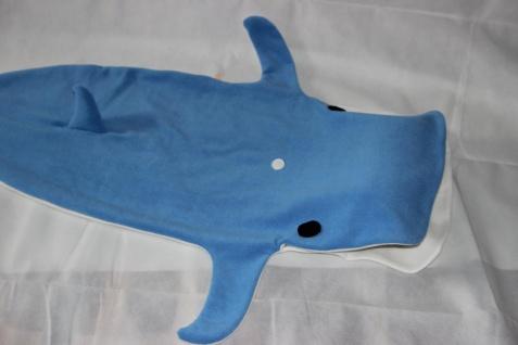 Kinder Schlafsack Wal Strampelsack Blauwal - Vorschau 1