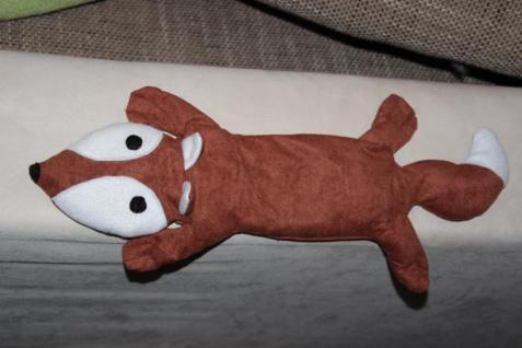 Wärmekissen Körnerkissen Fuchs Weizen Kissen