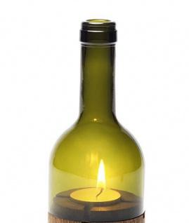 Side by Side Ersatzglas für Weinlicht grün