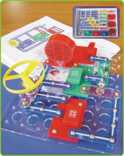 Kinder Elektronik Baukasten mit 256 Experimenten + DEUTSCHE ANLEITUNG