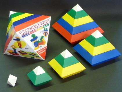 "15-TEILIG Triangle Puzzles das ZAUBER-PUZZLE ""TOP ERFINDUNG"""