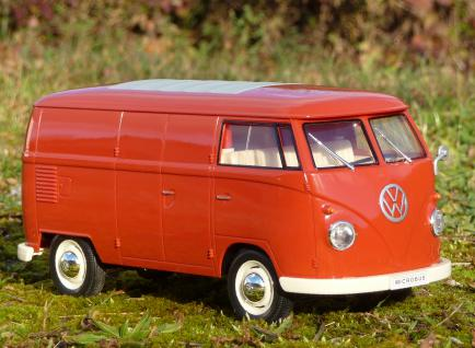 """RC Modell VW BUS T1 Transporter mit LICHT 26cm 27MHz """"Ferngesteuert"""" - Vorschau 3"""