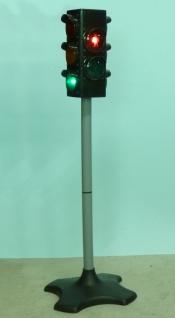 Kinder Verkehrs-ampel Mit Automatik-licht & TÖne In Maxi Höhe 72 Cm - Vorschau 3